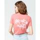 RIP CURL Palm Scenic Womens Pocket Tee
