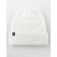 ETHIKA Thermal Knit White Mens Beanie