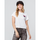VOLCOM Little Brah White Womens Tee