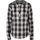 DC SHOES Collegiate Womens Hooded Shirt