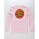 SANTA CRUZ Classic Dot Pink Mens T-Shirt