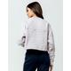 ADIDAS Embossed Logo Womens Crop Sweatshirt