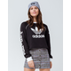 ADIDAS Trefoil Black Womens Crop Sweatshirt