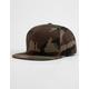 HUF Metal H Woodland Camo Mens Strapback Hat