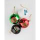 SANTA CRUZ 4 Pack Ornament Set