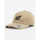 SANTA CRUZ Street Slant Tan Mens Strapback Hat