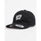 SANTA CRUZ Street Slant Black Mens Strapback Hat