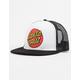 SANTA CRUZ Classic Dot White Mens Trucker Hat