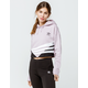 ADIDAS Cropped Soft Vision & Black Womens Hoodie