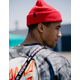 BRIXTON Heist Red Mens Beanie
