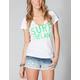 HURLEY Surf Ireland Womens Tee