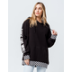 VANS Central Womens Oversized Hoodie