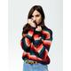FULL TILT Stripe Womens Boyfriend Sweater