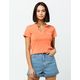 FULL TILT Los Angeles Coral Womens Polo Shirt