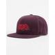 HUF Triple Rose Mens Snapback Hat