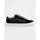 VANS Jersey Lace Old Skool Black & Port Mens Shoes