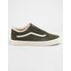 VANS Suede Old Skool Green Leaf Shoes