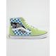 VANS Sk8-Hi Vans Patch Sharp Green Mens Shoes