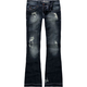 HYDRAULIC Destructive Womens Flare Jeans