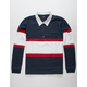 IMPERIAL MOTION Vintage Mens Rugby T-Shirt