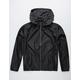 LRG Unmistakable Black Mens Windbreaker Jacket