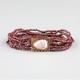 FULL TILT Beaded Stone Bracelet