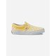 VANS Checkerboard Classic Slip-On Aspen Gold & True White Kids Shoes