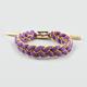 RASTACLAT Purp & Yellow Bracelet