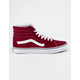 VANS Sk8-Hi Rumba Red & True White Shoes