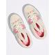VANS Flower Crown Slip-On Bunny Vanilla Cream Girls Shoes
