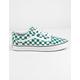 VANS ComfyCush Checker Old Skool Quetzal & True White Shoes