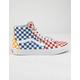 VANS Checkerboard Sk8-HI Multi & True White Shoes