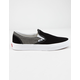 VANS Chambray Classic Slip-On Canvas Black & True White Shoes