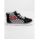VANS x David Bowie Checkerboard Sk8-Hi Zip Toddlers Shoes