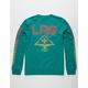 LRG Sunburst Green Mens Sweatshirt