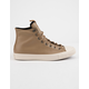 CONVERSE Chuck Taylor All Star Leather Teak & Driftwood High Top Shoes