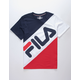 FILA Banner Striped Boys T-Shirt