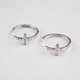FULL TILT Etched Hoop Cross Earrings