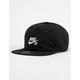 NIKE SB Dri-FIT Heritage 86 Flat Black Combo Mens Strapback Hat