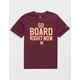 HURLEY So Board Burgundy Boys T-Shirt