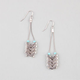 FULL TILT 4 Laddered Arrow Wire Earrings
