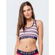 TOMMY HILFIGER Seamless White Combo Bralette