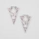 FULL TILT Cutout Triangle Earrings