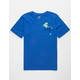 HURLEY Pocket Play Royal Boys Pocket Tee