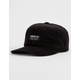 ADIDAS Originals Relaxed Wide Wale Corduroy Black Mens Strapback Hat