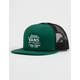 VANS Galer Green Mens Trucker Hat