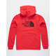 THE NORTH FACE Half Dome Red Mens Hoodie