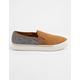 SOREL Campsneak Camel Brown Womens Slip-On Shoes