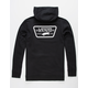 VANS Full Patched Black Mens Hoodie