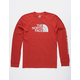 THE NORTH FACE Well Loved Half Dome Red Mens T-Shirt